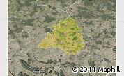 Satellite Map of Peine, semi-desaturated