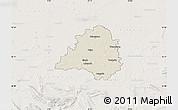 Shaded Relief Map of Peine, lighten