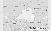 Silver Style Map of Peine