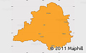 Political Simple Map of Peine, cropped outside