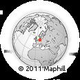 Outline Map of Salzgitter