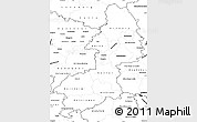 Blank Simple Map of Braunschweig