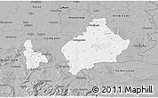 Gray 3D Map of Wolfenbüttel