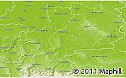 Physical 3D Map of Wolfenbüttel