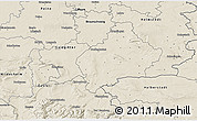 Shaded Relief 3D Map of Wolfenbüttel