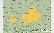 Savanna Style Map of Wolfenbüttel