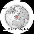 Outline Map of Wolfenbüttel