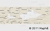 Classic Style Panoramic Map of Wolfenbüttel
