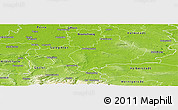 Physical Panoramic Map of Wolfenbüttel