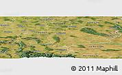 Satellite Panoramic Map of Wolfenbüttel