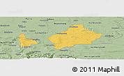 Savanna Style Panoramic Map of Wolfenbüttel