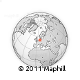Outline Map of Diepholz