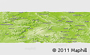 Physical Panoramic Map of Holzminden
