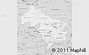 Silver Style Map of Hannover