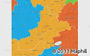 Political Map of Nienburg