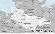 Gray 3D Map of Lüneburg