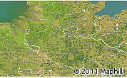 Satellite 3D Map of Lüneburg