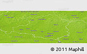 Physical Panoramic Map of Celle