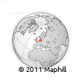 Outline Map of Harburg