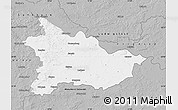 Gray Map of Lüchow-Dannenberg