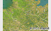 Satellite Map of Lüneburg