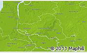 Physical 3D Map of Osterholz