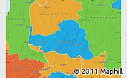 Political Map of Osterholz