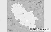 Gray 3D Map of Rotenburg