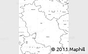 Blank Simple Map of Rotenburg