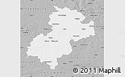 Gray Map of Soltau-Fallingbostel