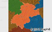 Political Map of Soltau-Fallingbostel, darken