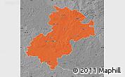 Political Map of Soltau-Fallingbostel, desaturated