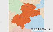Political Map of Soltau-Fallingbostel, lighten