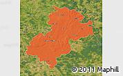 Political Map of Soltau-Fallingbostel, satellite outside