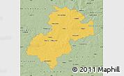 Savanna Style Map of Soltau-Fallingbostel