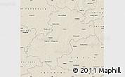 Shaded Relief Map of Soltau-Fallingbostel