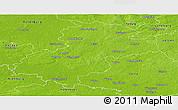 Physical Panoramic Map of Soltau-Fallingbostel
