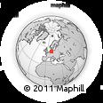 Outline Map of Uelzen