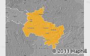 Political Map of Verden, desaturated