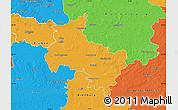 Political Map of Verden