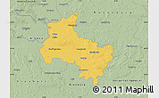 Savanna Style Map of Verden