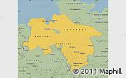 Savanna Style Map of Niedersachsen