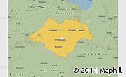 Savanna Style Map of Ammerland