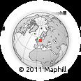 Outline Map of Ammerland