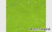 Physical Map of Cloppenburg