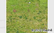 Satellite Map of Cloppenburg
