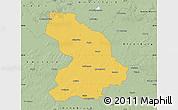 Savanna Style Map of Cloppenburg