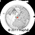 Outline Map of Cloppenburg