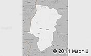 Gray Map of Emsland