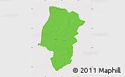 Political Map of Emsland, cropped outside